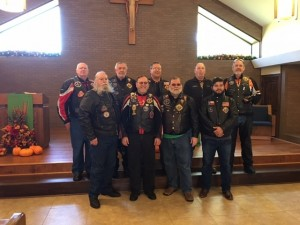 Nov 12- Knights on Bikes- Rosary Run
